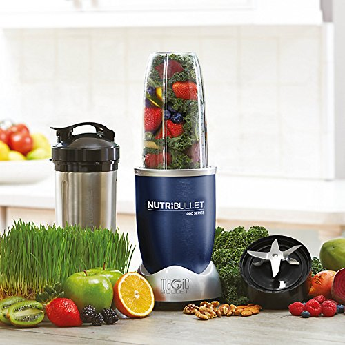 NUTRiBULLET Pro 1000 Series Extractor Blender 9-Piece Set