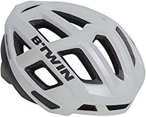 Btwin Aerofit 900 Cycling Helmet - White/Black