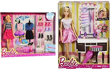 Barbie Fashions and Accessories  + Barbie Doll and Playset