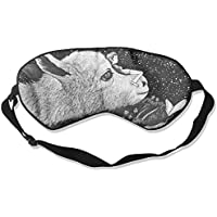 Comfortable Sleep Eyes Masks Nightwalker Pattern Sleeping Mask For Travelling, Night Noon Nap, Mediation Or Yoga preisvergleich bei billige-tabletten.eu