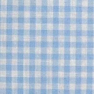 Tissu Vichy Bleu Ciel petits carreaux 3mm (tarif indiqué pour 50cm - Livré d'un seul tenant si achats multiples) - Avenue des Tissus