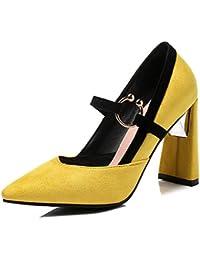 Chaussures à élastique Aisun noires femme sRsL8k3xA