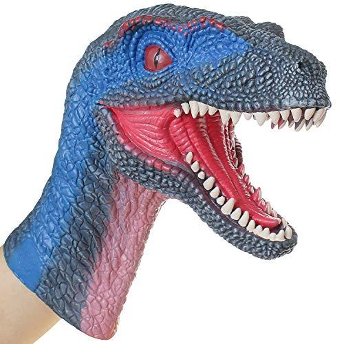 Lebze Marioneta de Mano de Dinosaurio Velociraptor