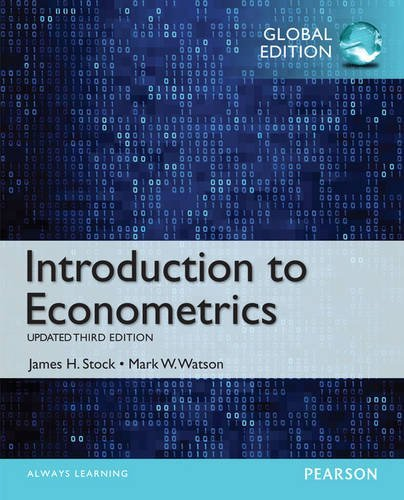 Introduction to Econometrics, Update by James H Stock (16-Oct-2014) Paperback
