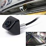 Jiam® Negro Alta Definicion E366 170 Grados Angulo de Vision Camara de Vision / Cámara de vista trasera Videocámara para Coche con sensor de imagen