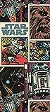 1art1 91442 Star Wars - Comic Fototapete Poster-Tapete 202 x 90 cm