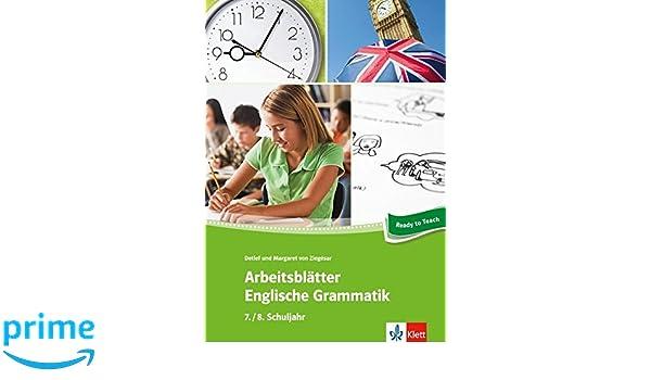 Arbeitsblätter Englische Grammatik 7./ 8. Schuljahr: 34 ...