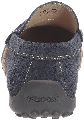 Geox U SNAKE MOC ART.U U1107U00022C4002 Herren Mokassins Blau (NAVY C4002)