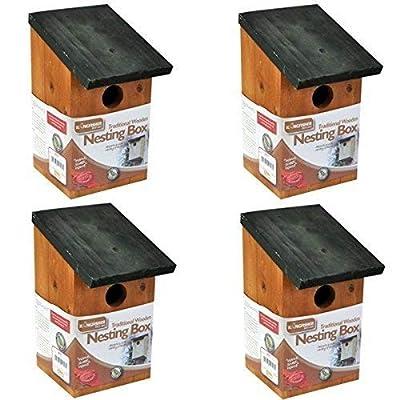 Kingfisher BF017 Bird Houses by Bonnington Plastics