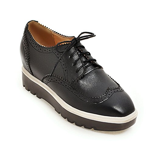 Thick-soled casual chaussures fashion Lady head/augmenté chaussures de coins d'Angleterre A