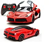 #10: FunBlast™ 1:16 Super car, Remote controlled Ferrari Car with Door Opening Function, RC Ferrari Car for Kids (Red)