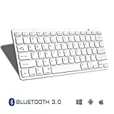 Spin CART Ultrathin Bluetooth Keyboard for Tablets Laptop PC, Supports Windows, Android, iOS