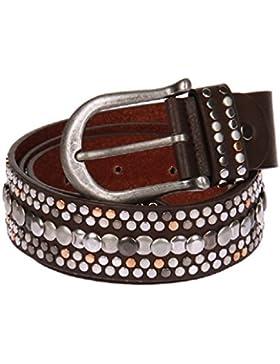 Cinturón de piel con tachuelas para mujer de montaña de Koss