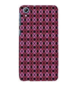 EPICCASE gloomy flowers Mobile Back Case Cover For HTC Desire 826 (Designer Case)