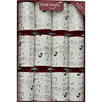 Robin Reed Musical Christmas Crackers with Chime Bars, Paper, Multi-Colour, 34 x 24 x 12 cm