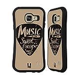 Head Case Designs Plektrum Kraft Der Musik Hybrid Hülle für Samsung Galaxy A3 (2016)