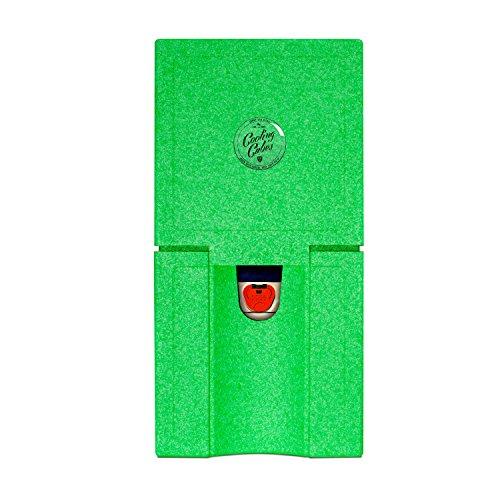 Cooling Cubes HANG LOOSE - Festival Zubehör - Bierfass Kühlung von 5L Partyfässchen und Bierdosen (grün)