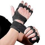 Mayyou Männer Fitness Handschuhe Trainingshandschuhe Handgelenk Unterstützung Sporthandschuhe...
