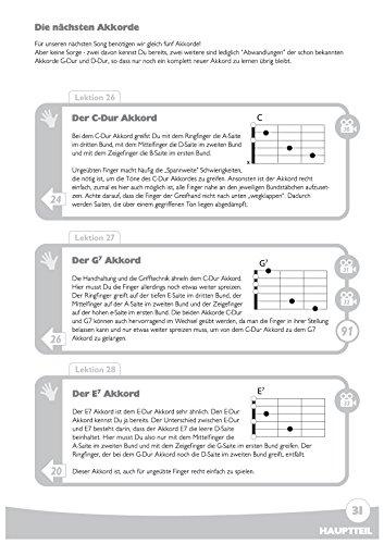 Spielend Gitarre Lernen: Die große Anfänger-Gitarrenschule (mit DVD) - 4