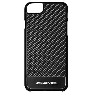 Original Mercedes AMG Handyhülle iPhone 7 Carbon Hardcase schwarz