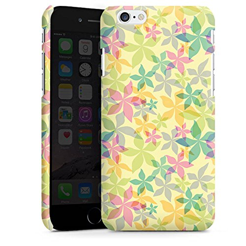 Apple iPhone X Silikon Hülle Case Schutzhülle Bunt Muster blumen Premium Case matt