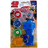 Uniek Deals Beyblade with Metal Fury 4D System Beyblade Spinning Toy, Multi Color