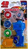 #9: Uniek Deals Beyblade With Metal Fury 4D System Beyblade Spinning Toy(Color May Vary)