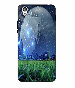 Case Cover Sky Printed Blue Hard Back Cover For One Plus X