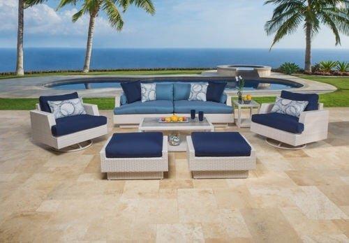 Der Santorini im Garten Möbel Kollektion -