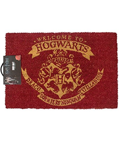 Felpudos Cómics Harry Potter Welcome to Hogwarts Door Mat