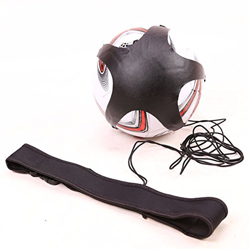 Kick Hands Free Solo Soccer Football Kick Trainer Training Aid Ball Rebounder To Practice Solo HTY06