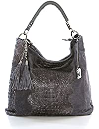 Anna Morellini Allessandra - WB111073-ASH (288) - marron - 319EUR - Handbag - Handcrafted in Italy NPIV6
