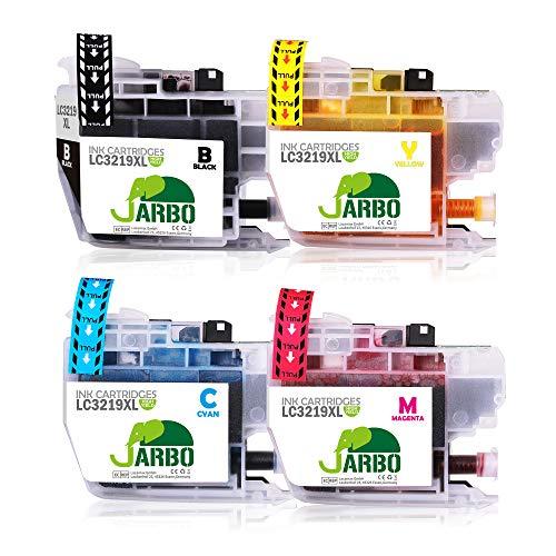 JARBO LC3219XL Cartuchos Tinta Reemplazo Para Brother
