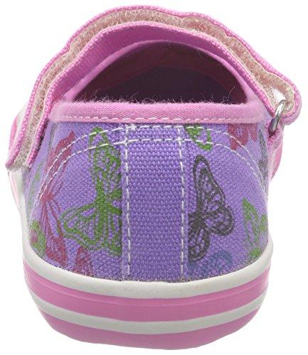 s.Oliver Mädchen 34200 Geschlossene Ballerinas Violett (VIOLA COMB 507)