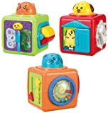 Winfun Stack 'n Play Activity Bloks, Mul...