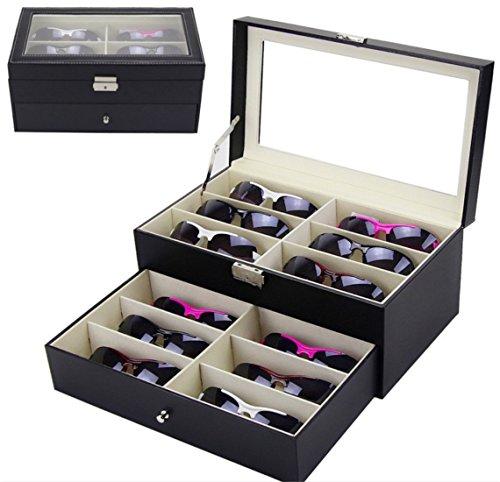 rightvp-scatola-per-occhiali-custodia-occhiali-porta-12-occhiali-da-sole-supporto-cassetto-organizza