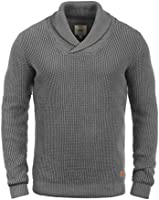 REDEFINED REBEL Major Herren Shawl Strickpullover