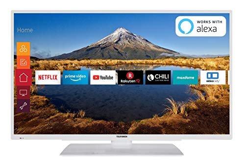 Telefunken XF40G511-W 102 cm (40 Zoll) Fernseher (Full HD, Triple Tuner, Smart TV, Prime Video) -