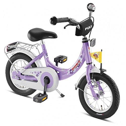Puky Kinder-Fahrrad ZL 12-1 Alu mit Alu-Rahmen Farbe: flieder Art-Nr: 4124