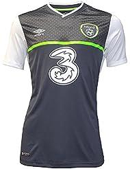 2015-2016 Ireland Away Umbro Football Shirt