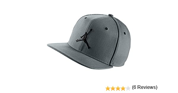 Nike Jordan Jumpman Snapback Cappello (Cool Grey Black) - Taglia Unica   Amazon.it  Sport e tempo libero 3571718db5fc