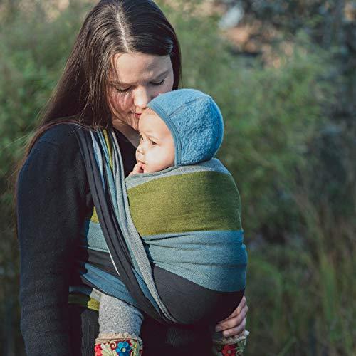 HOPPEDIZ Baby-Tragetuch, inklusive Bindeanleitung, Aberdeen 4,60 m - 4