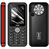 TORK MOBILE T19 SHINE 3 SIM Made In India 2.4 Display + 2800 MAh Battery +TALKING KEYPAD +Big Speaker +Digital Camera + Auto Call Recording + Wireless FM +Mobile Tracker + GPRS + WAP + Vibration +500 Contacts Phonebook +16 Led Torch + 3 Sim + BT + 100 DAY