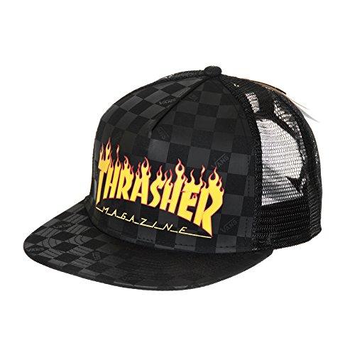 Imagen de  vans x thrasher flame black edición limitada