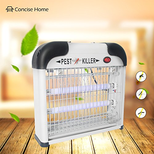concise-home-12w-electric-fly-insect-killer-insect-pest-control-bug-fly-zapper-insect-fly-trap-mosqu