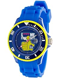Ice-Watch Unisex-Armbanduhr Small F*** Me I'm Famous Blau LM.SS.RBH.S.S.11