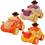 #6: Vintage Car Toy with friction action