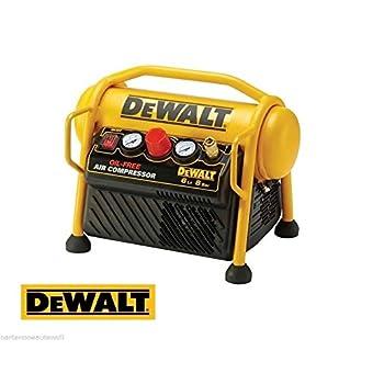 Compresseur sans huile 1100 W Capacité 6 Litres modèle DPC6MRC DEWALT-QS