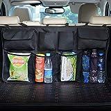 Dolank Kofferraum Organizer,Auto Rücksitz Organizer,Auto Boot Organizer Auto-Sitztasche für mehr Ordnung und Platz in Ihrem Kofferraum