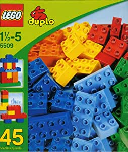 5509 Lego Duplo Bricks Building Game Box Of Supplement